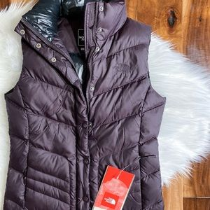 Most Gorgeous THE NORTH FACE down 700 purple Vest